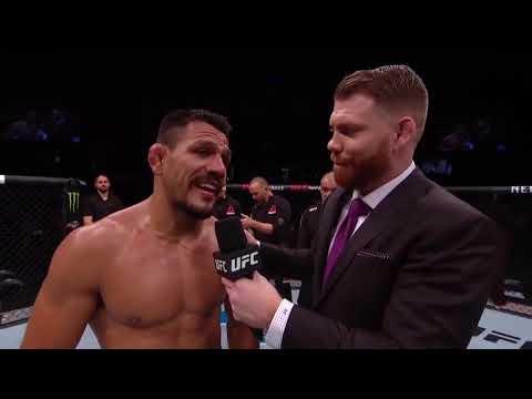 UFC Рочестер: Рафаэль Дос Аньос - Слова после боя