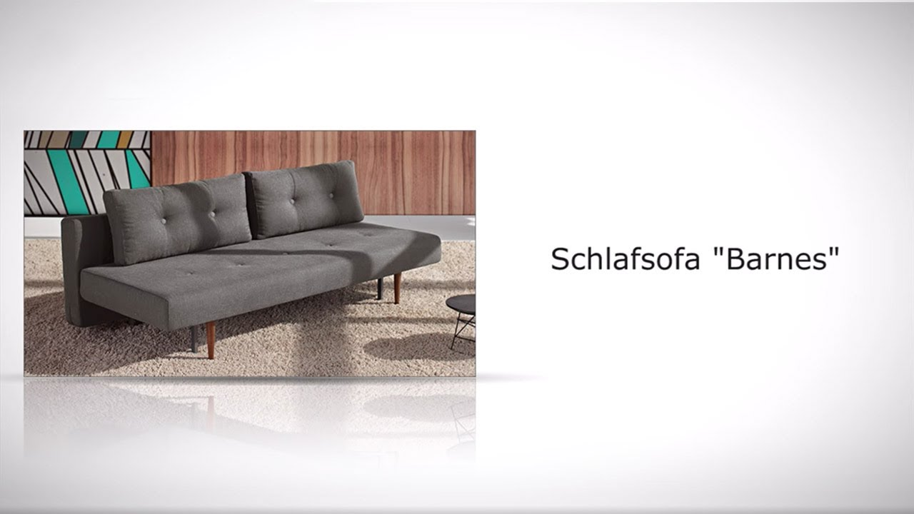 querschl fer schlafsofa im retrostil in grau oder blau. Black Bedroom Furniture Sets. Home Design Ideas
