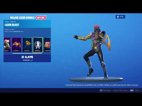 *BUYING* The Major Lazer Bundle In Fortnite...!!!