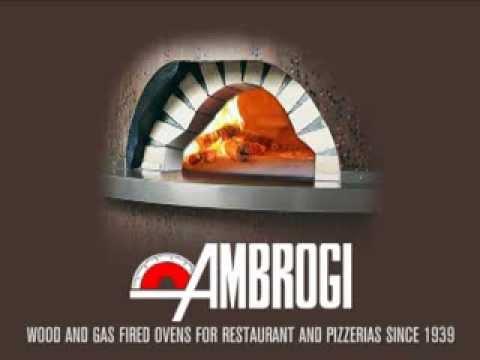 ambrogi wood fired pizza oven youtube