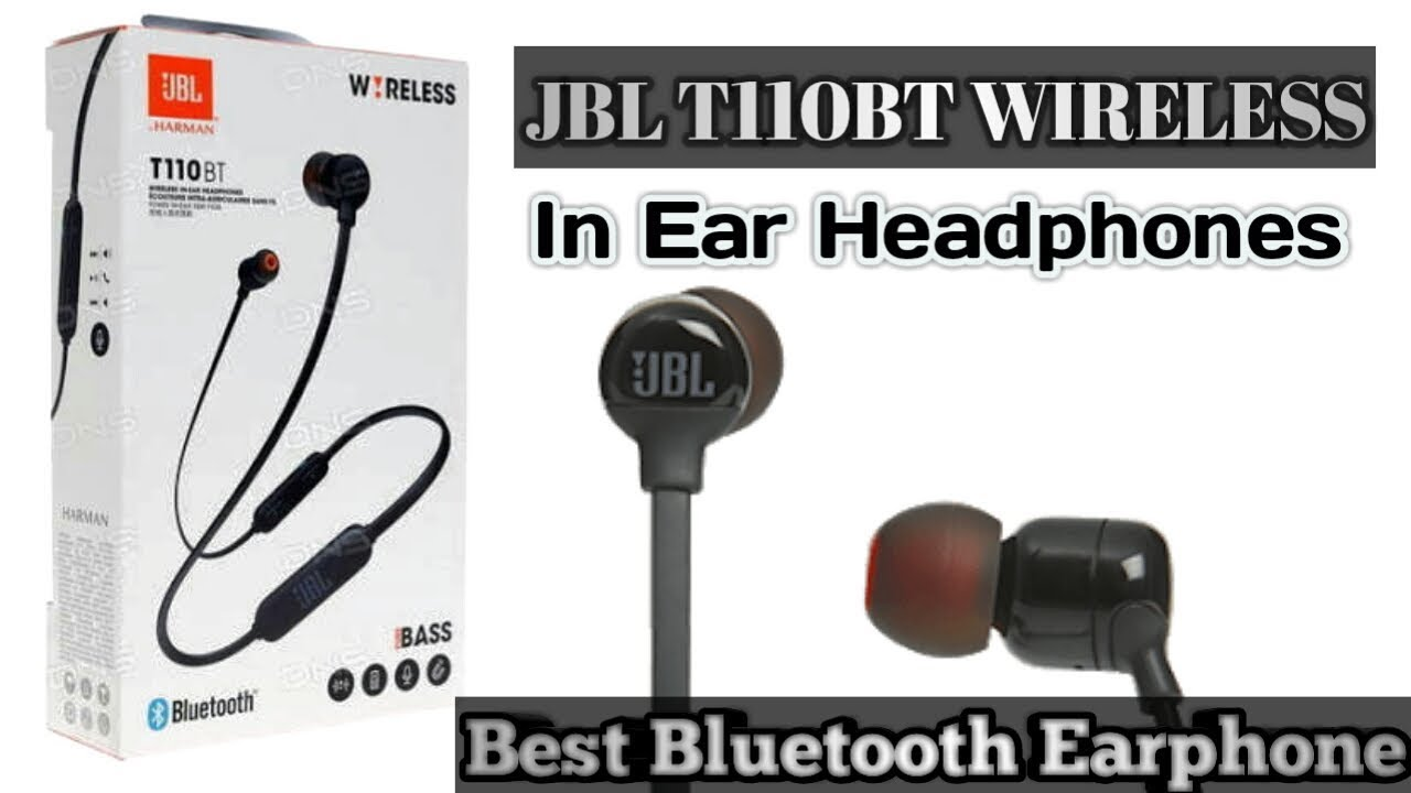 b58419fe811 JBL T110 in ear Bluetooth headphones Unboxing + Review (Hindi)/H world - H  world