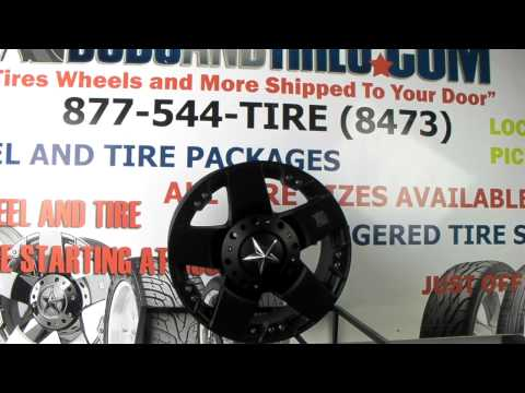 www.DUBSandTIRES.com XD Series Rockstar Wheels OffRoad Wheels XD775 4x4 Truck Rims and Tires