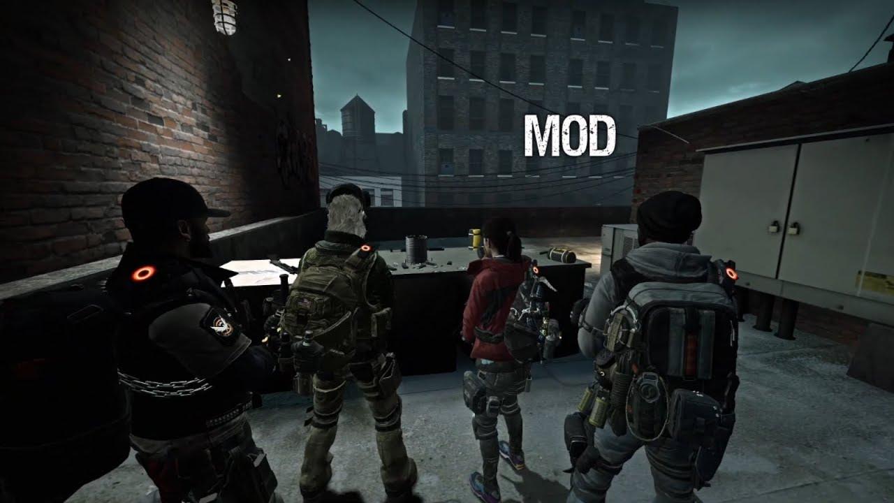 Left 4 Dead - The Division 2 Mod Agent Survivors (PC)
