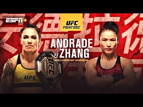 UFC On ESPN+15: Andrade Vs Zhang FULL Card Predictions