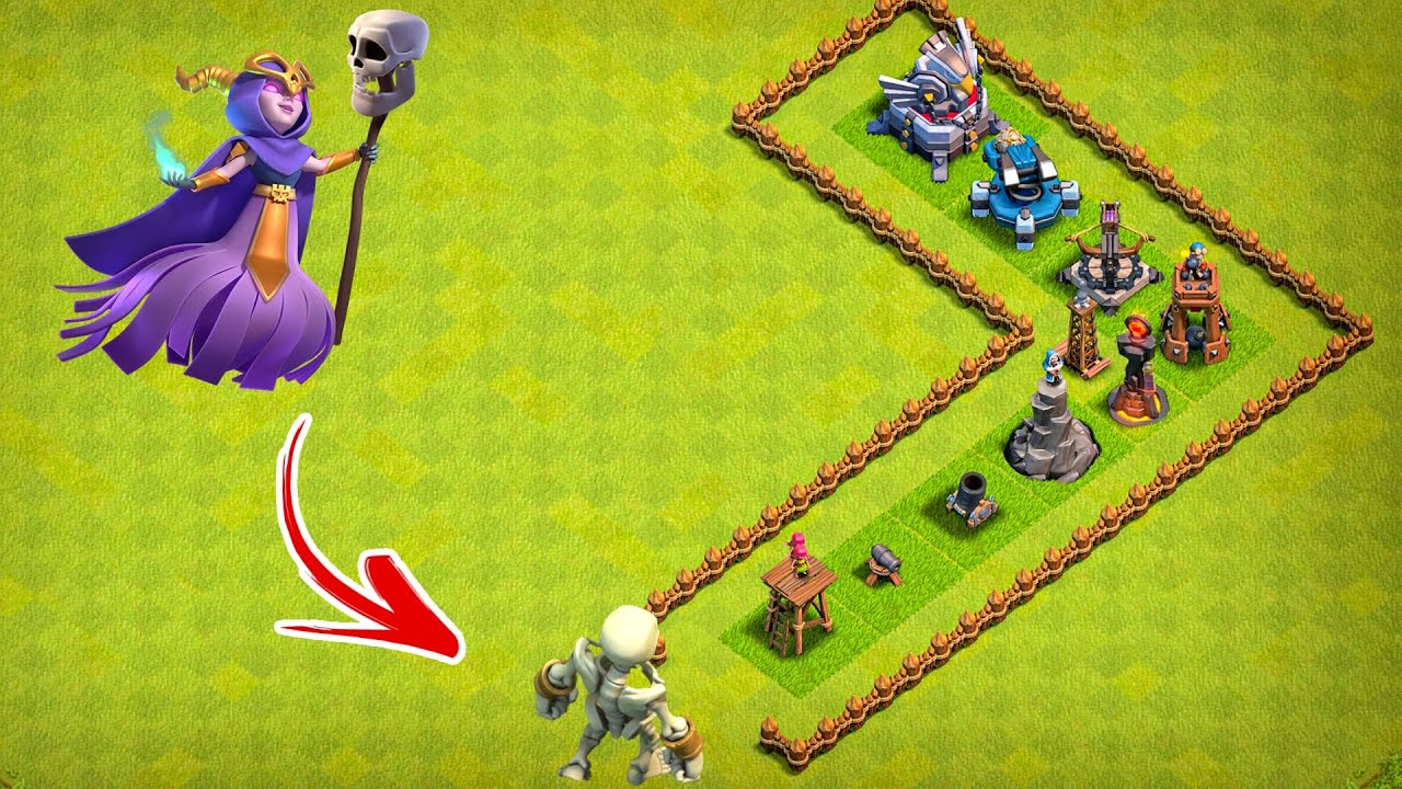 BIG BOY vs All Defense - Clash of Clans