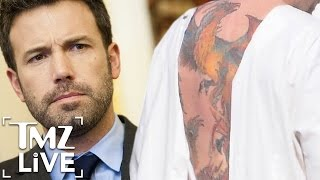 Ben Affleck Massive Back Tattoo Is The REAL DEAL | TMZ Live