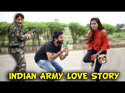 LOVE STORY OF AN INDIAN ARMY | BakLol Video | thumbnail