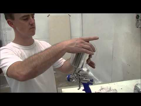 How to Use a HVLP Spray-Gun