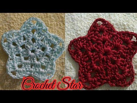 Crochet Star Pattern Easy Star Pattern For Beginners Indian