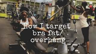 How I Target Bra Overhang and Abs.