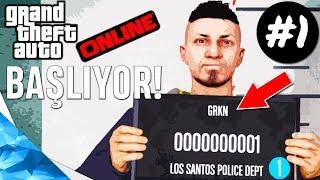 GTA 5 ONLINE TÜRKÇE - ÇAYLAK MAGANDA!! BAŞLIYORUZ! 1. Bölüm