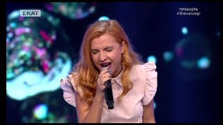 The Voice of Greece 4 - Blind Audition - OH! DARLING - Katerina Mparmparousi