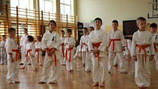 Egzamin w Ostro��ckim Klubie Karate Kyokushin
