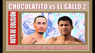 Ruta de Colisión (E5): González vs. Estrada 2, factores que definen la pelea y ¿cómo será esa pelea?
