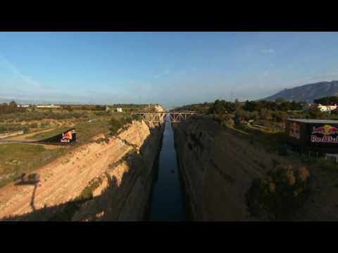 Robbie Maddison - Red Bull Corinth Canal Jump