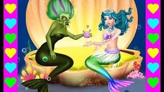 РУСАЛОЧКА становиться ЧЕЛОВЕКОМ! Свидание с принцем. Мультики для девочек про русалку и принца.