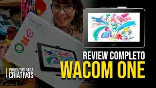 Review Wacom One Completo! | Amarelo Criativo