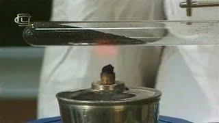 Опыты по химии. Получение кислорода из перманганата калия