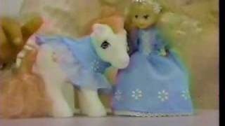 VINTAGE 80'S MY LITTLE PONY MEGAN AND PONY WEAR COMMERCIAL