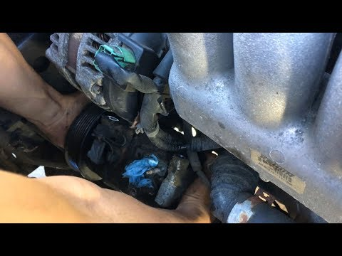How To Replace AC Compressor Honda Accord 2003-2007: Part 1 – Removal | DIY Auto Repair Guide