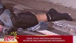 UB: Rider, patay matapos mabangga ng kotse ang sinasakyang motorsiklo sa Buendia flyover