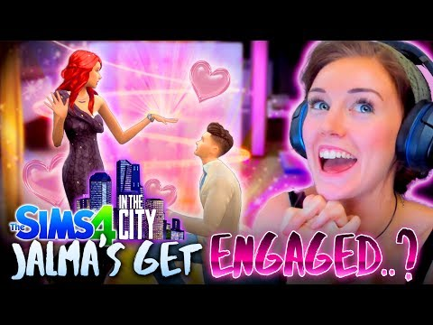 💍A PROPOSAL... AND A BREAK UP!?💔(The Sims 4 IN THE CITY #6! 🏩)