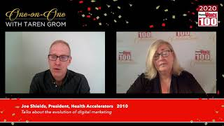 Joe Shields, Health Accelerators – 2020 PharmaVOICE 100 Celebration