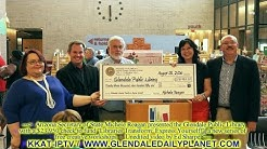 AZ SECRETARY OF STATE PRESENTS GRANT TO GLENDALE PUBLIC LIBRARY