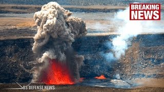 Hawaii Volcano: Fresh Warning as Summit Crater EXPLODES for SECOND TIME in a Week