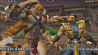 Mortal Kombat Armageddon KINTARO - (VERY HARD) - (PS2)【TAS】
