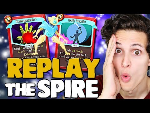 Playing Replay The Spire Mod -- Lots Of New Changes!