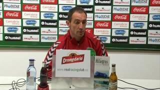 Pedro Munitis en previa Cádiz-Racing de Santander (03-06-16)