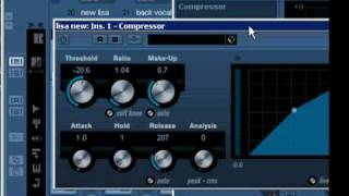 Recording Mixing Vocals with Compression