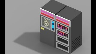 Server Tycoon: DEC PDP-11 voxel modelling
