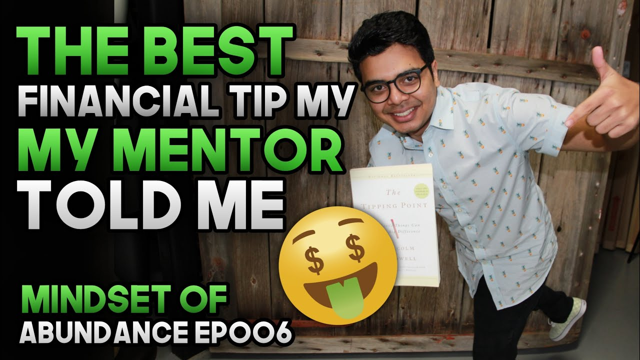 The Best Financial Tip My Mentor Told Me || Sweep Account & Saving ||  Mindset of Abundance EP006