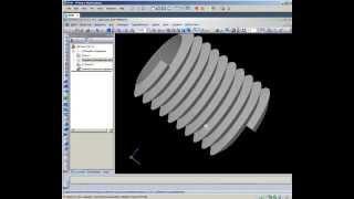 Создание резьбы в КОМПАС-3D