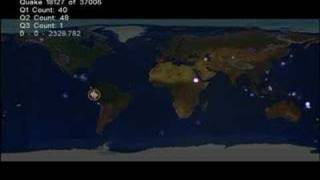 37006 Earthquakes In 5 Years Animation