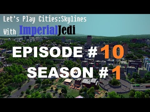 Let's Play Cities: Skylines - Episode 10 Forestry Industry