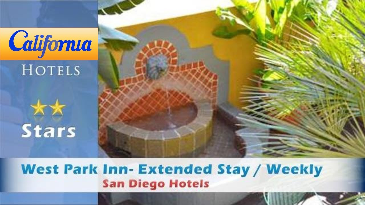 West Park Inn Extended Stay Weekly Rates Available San Go Hotels California