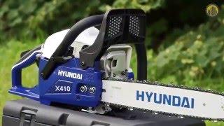 HYUNDAI X410 Бензопила смотреть