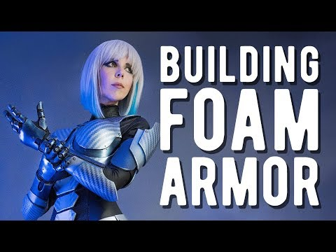 Full EVA Foam Armor - Medion Erazer Girl