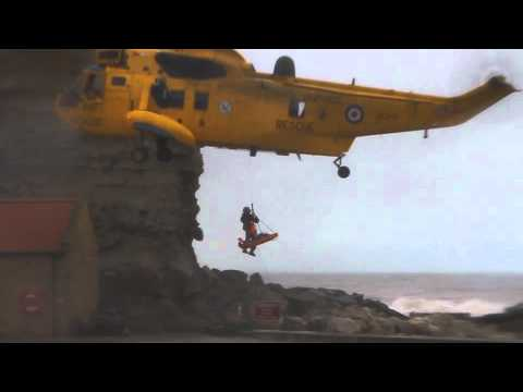 Air Sea Rescue At Staithes