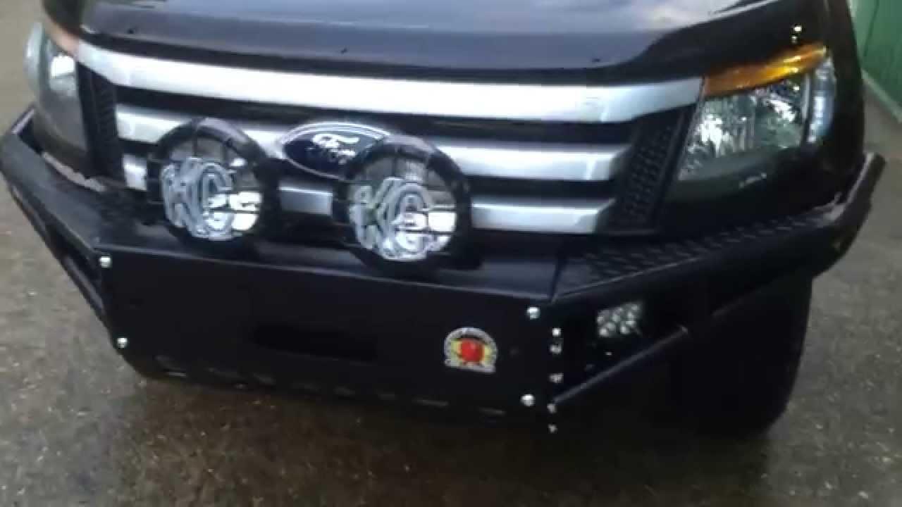 Ford ranger xrox bull bar kc hilites hid off road youtube ford ranger xrox bull bar kc hilites hid off road aloadofball Choice Image