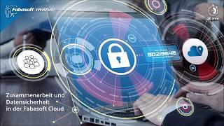 Zusammenarbeit und Datensicherheit in der Fabasoft Cloud -  30 Minuten Webinar