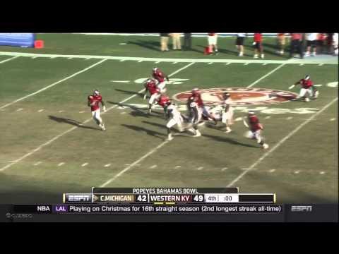 Bowl Bits: Western Kentucky 49, Central Michigan 48 (Bahamas Bowl)