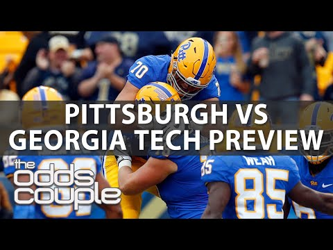 Pitt Panthers vs Georgia Tech Yellow Jackets   College Football Betting Preview   Week 4