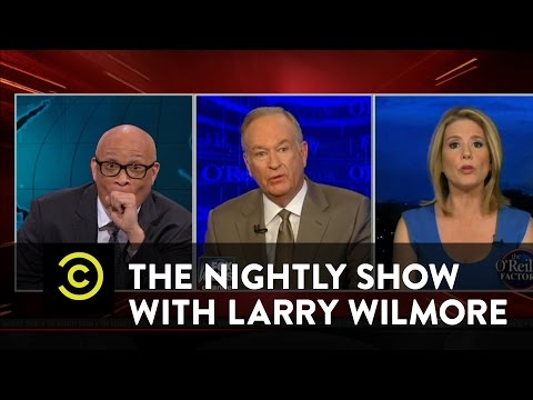 The Nightly   O'blivious  Bill O'Reilly's AllWhite Debate on Racism