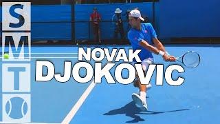novk djokovic super slow motion backhands at australian open 2015 slow motion tennis