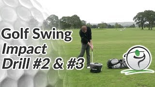 Golf Impact Drill - Improve Ball Striking with a Powerful Position