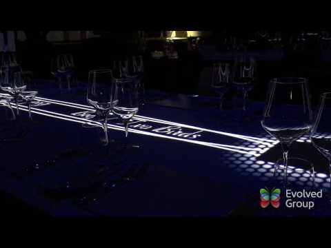 Private Gala Dinner | Projection Mapping